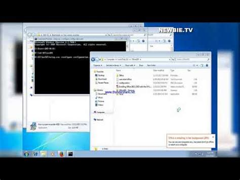 HOW TO INSTALL OFFICE 365 USING CMD - YouTube