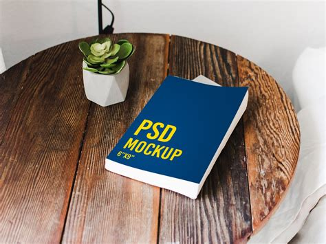 Book on a table - Freebie - PSD by Cirquare on Dribbble