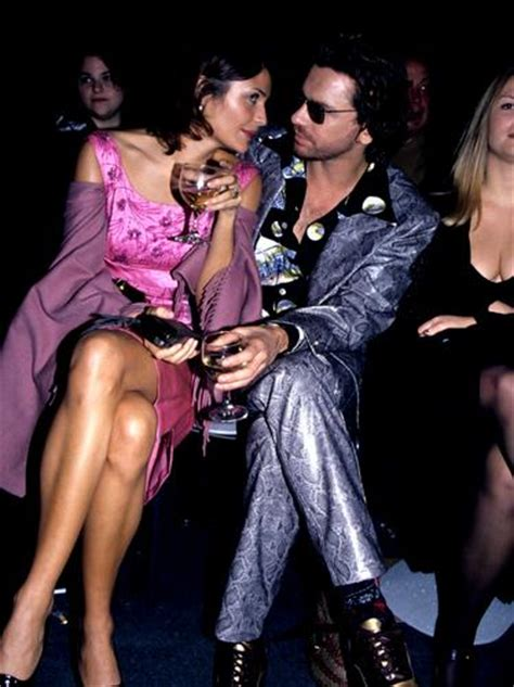 Helena Christensen and Michael Hutchence - Musicians and