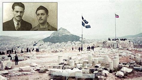 The Day Two Teenage Greeks Took Down the Nazi Flag from