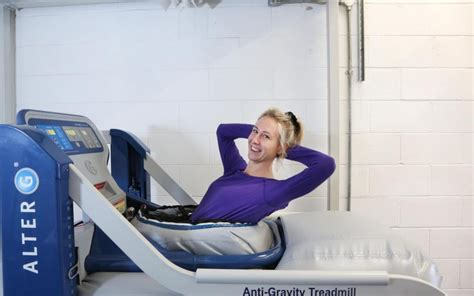 Could an anti-gravity treadmill save your damaged knees?